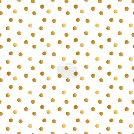 golden dots pattern