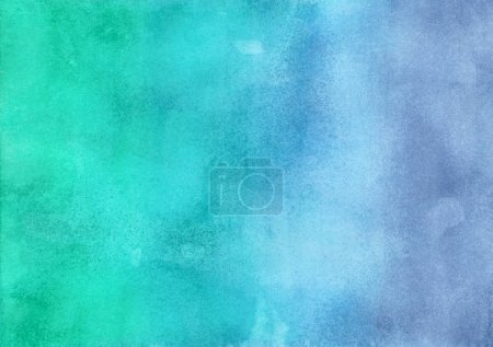 watercolor green and blue gradient texture.
