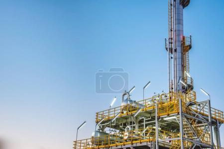 Process Columns of Natural Gas Factory