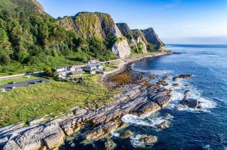 Cliffs and Causeway Coastal Route, Northern Ireland, UK