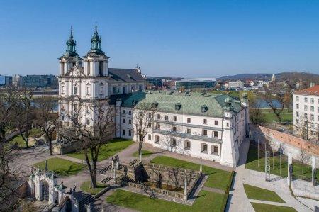 St. Stanislaus church and Paulinite monastery in Krakow, Poland