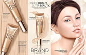 Trendy foundation ads
