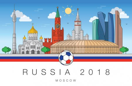 Sights of Moscow World Cup 2018