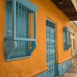 Постер, плакат: Colourful colonial architecture in Honda Colombia