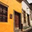 Постер, плакат: Colonial buildings in Honda Colombia
