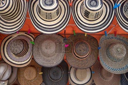 sombreros de paja colombiana