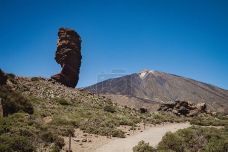 Beautiful volcanic landscape in Tenerife