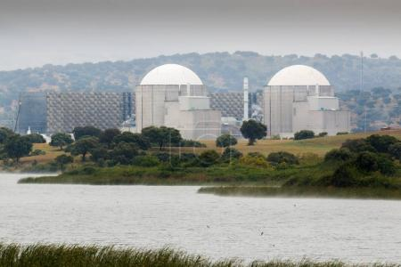 Nuclear power plant in center of Spain