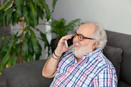 senior man with white beard