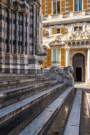 San Lorenzo Cathedral in Genoa,