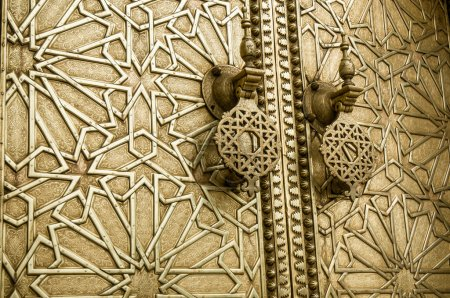 close up of Ancient doors