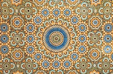 moroccan vintage ceramic tile background