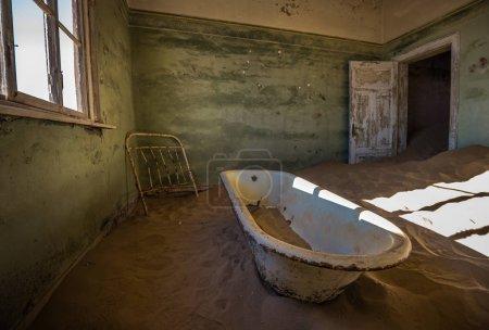 Abandoned ghost town of Kolmanskop