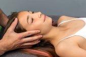 Poster Hands doing healing physical cranial
