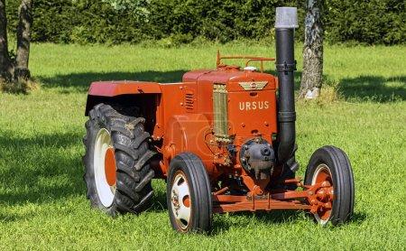 Vintage Polish tractor Ursus C-45 in Choczewo, Pom...