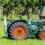 Vintage German tractor Lanz Bulldog in Choczewo, P...