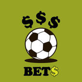 Sport logo betting soccer ball