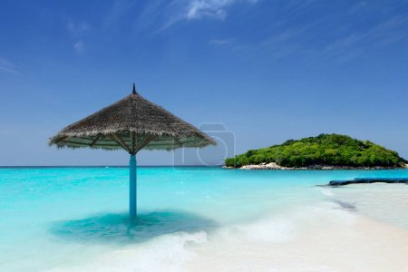 Beaucoup and dreamed location for holiday in the tropical beach