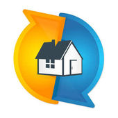 Air conditioning and ventilation of houses