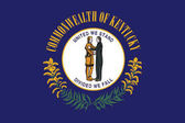 Flag of Kentucky State USA Vector Format