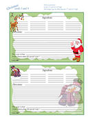 Christmas 5 x 7 Recipe Cards 3 and 4