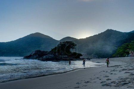 Beach Pedra da Praia do Meio Trindade, Paraty Rio de Janeiro Bra