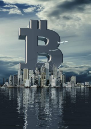 Business city bitcoin