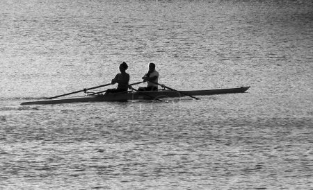 Two Resting Rowers