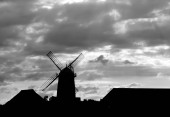 Windmill Sihlouette