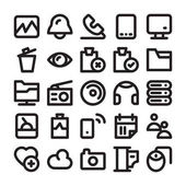 Science and Technology Line Icons 14