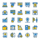 Finance and Payments Colored Icons 6