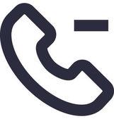 Cancel Call Vector Icon