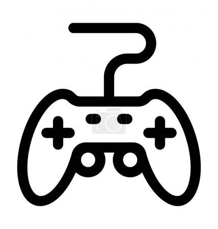 Spiel-Pad-Vektor-Symbol