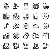 Web and User Interface Line Icons 10