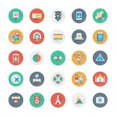 Summer and Holidays Vector Icons 13