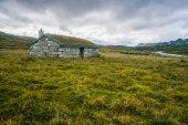 little house on meadow