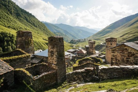 Old town in mountains