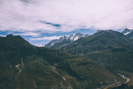 Photo for Majestic scenic mountain landscape in Indian Himalayas, Rohtang Pass - Royalty Free Image