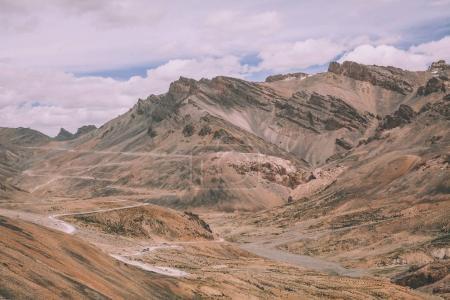 majestic mountain landscape in Indian Himalayas, Ladakh region