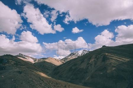 beautiful scenic mountain landscape in Indian Himalayas, Ladakh region