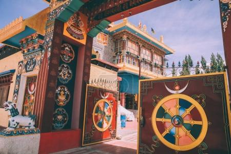 Photo for Open gates and entrance to the Leh city in Indian Himalayas - Royalty Free Image
