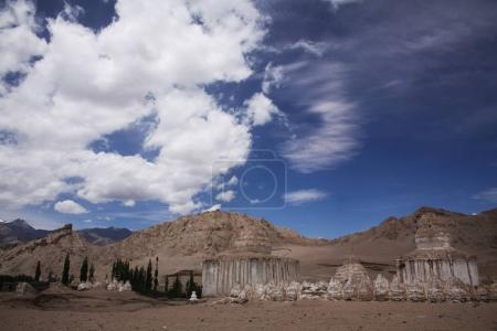 Photo for Valley of stupas in Leh, Indian Himalayas - Royalty Free Image