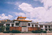 traditional authentic building in Indian Himalayas, Leh
