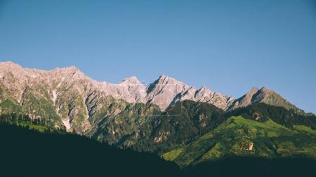 Photo for Scenic mountain landscape in Indian Himalayas - Royalty Free Image