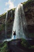 """Постер, картина, фотообои """"Водопад"""""""