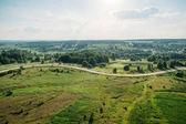 Beautiful summer landscape of Kreva, Grodno Region, Belarus