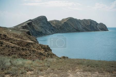 mountains ridge
