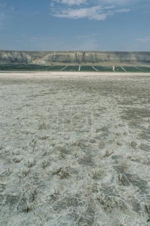 Dry ground in mountainous area of Crimea, Ukraine, May 2013