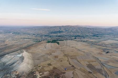 Aerial view of Goreme national park, Cappadocia, Turkey