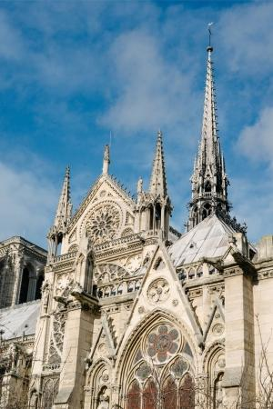 Photo for Notre Dame Cathedral in Paris, France - Royalty Free Image